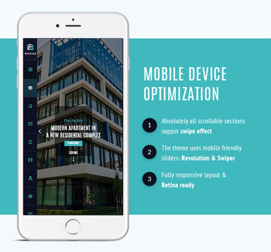 mobile real estate design