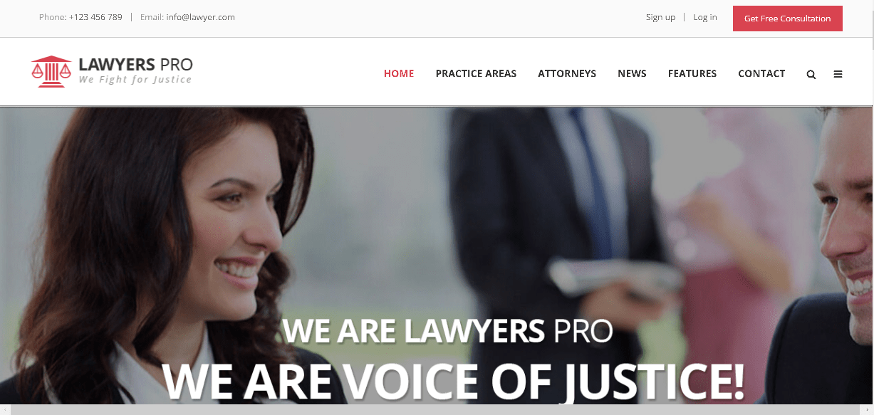 web design lawyers