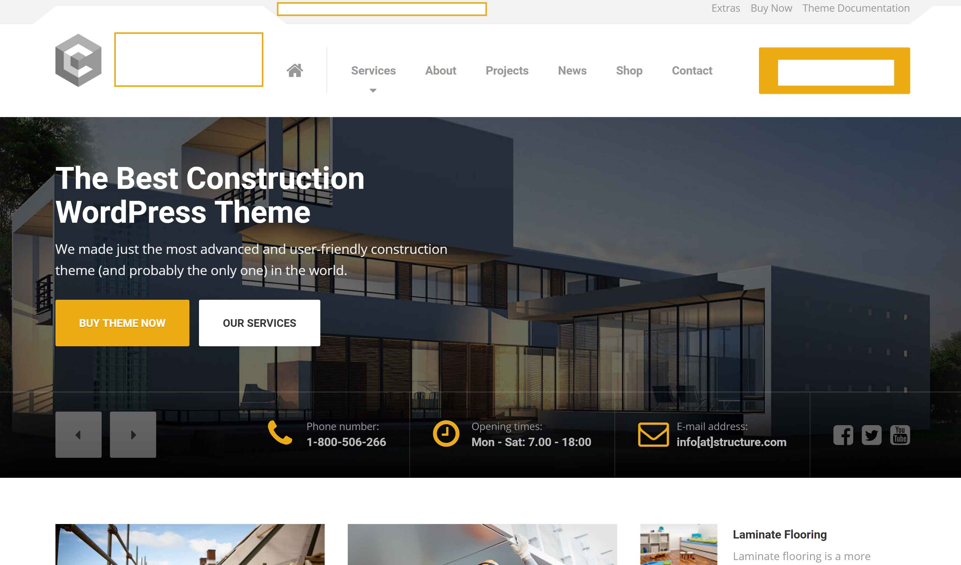 architect's website
