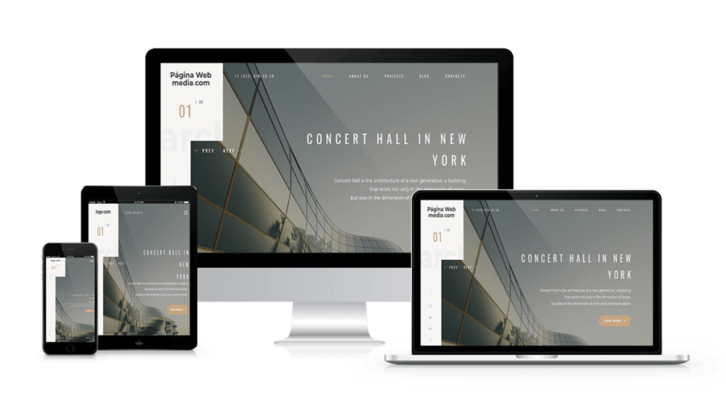 Web design for architects and decorators