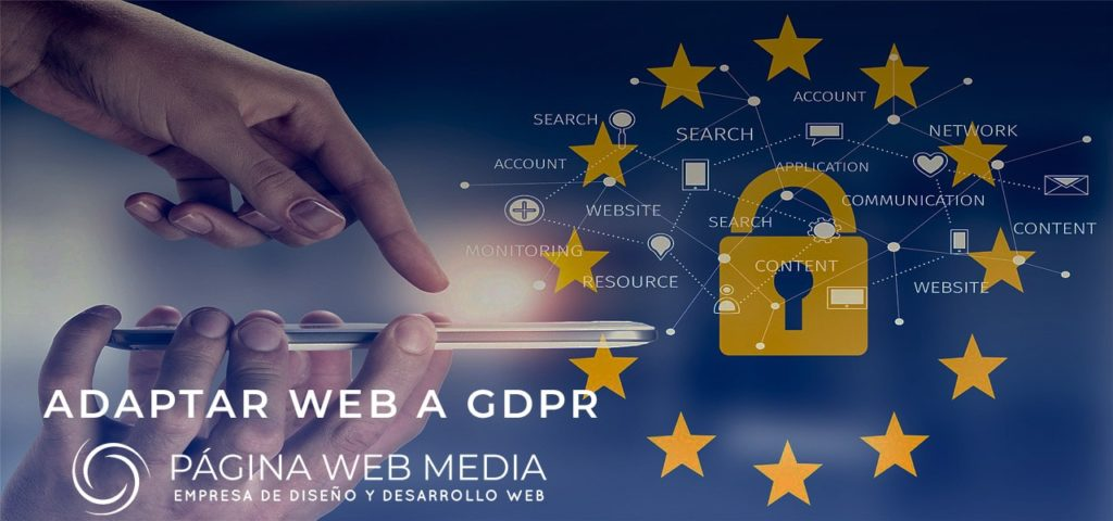 Websites and GDPR data protection