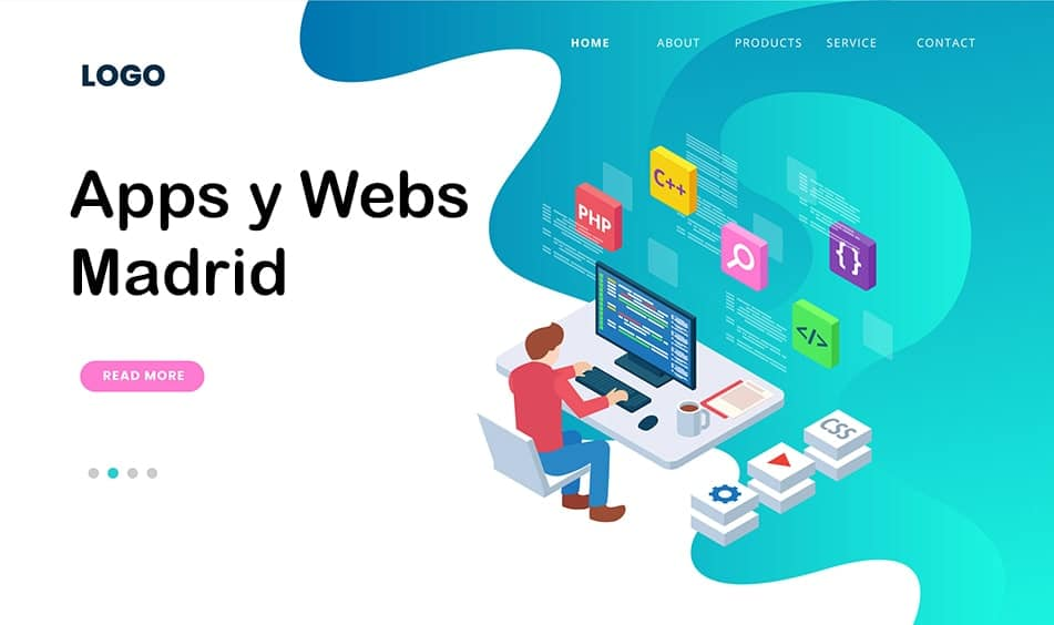 web design and apps Madrid