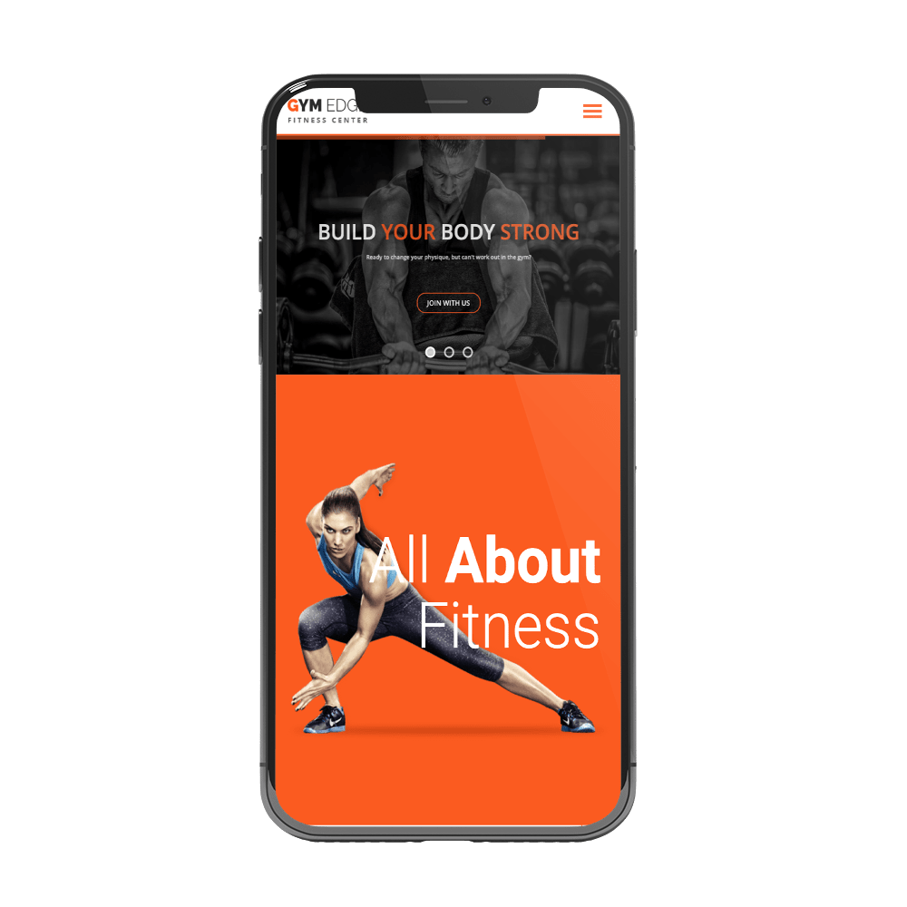 App design for gyms, fitness and trainers