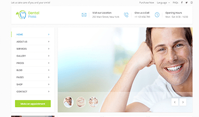 websites for dental clinics example 5