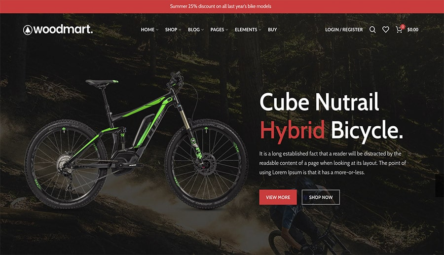 ecommerce for sports shop